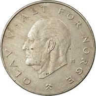 Monnaie, Norvège, Olav V, Krone, 1981, TB+, Copper-nickel, KM:419 - Norvège