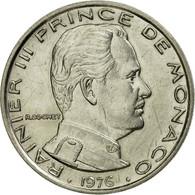 Monnaie, Monaco, Rainier III, Franc, 1976, TTB, Nickel, KM:140, Gadoury:MC 150 - Monaco