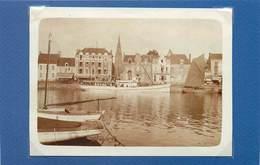 LE POULIGUEN - Bateau Ville De Saint Nazaire, Juillet 1929 ( Photo Format 11cm X 8,1 Cm). - Lieux