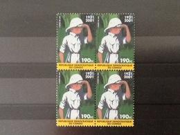 Nr.2092** Blok Van Vier Kuifje In Congo. - République Démocratique Du Congo (1997 -...)