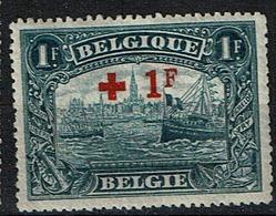 160  **  125 - 1918 Croix-Rouge