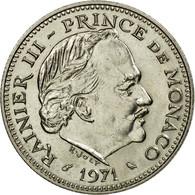 Monnaie, Monaco, Rainier III, 5 Francs, 1971, SUP, Copper-nickel, KM:150 - Monaco