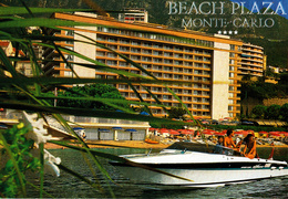 MONACO - La Côte D' Azur - Monte-Carlo - Montecarlo - Beach Plaza Hotel - Motoscafo / Speedboat / Hors-bord - Monte-Carlo