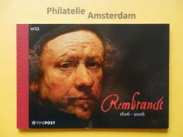 Netherlands 2006, REMBRANDT BOOKLET WITH UNAUTHORIZED REPRINT GERMAN SASKIA VAN UYLENBURGH: Mi 2410-14, ** BK - Rembrandt