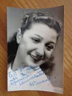 PHOTO AVEC DEDICACE A IDENTIFIER (  PHOTO GUILLAUME, RENNES ) - Autographes