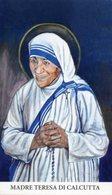 Noto SR - Santino MADRE TERESA DI CALCUTTA - PERFETTO P62 - Religione & Esoterismo