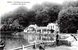 Coye. Partie De Pêche à La Maison Des Gardes Sur Les étangs De Commelle. - Frankrijk
