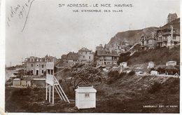 CPA -   SAINTE ADRESSE (76)  Le Nice Havrais -Vue D'ensemble Des Villas  ( Villas En Construction - 1909) - Sainte Adresse