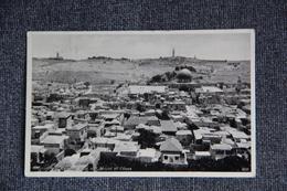 PALESTINE - JERUSALEM, Vue Générale Du Mont Des Oliviers. - Palestine