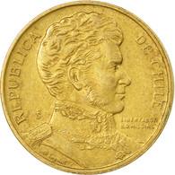 Monnaie, Chile, Peso, 1987, TTB, Aluminum-Bronze, KM:216.1 - Chile