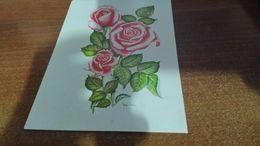 Cartolina:Rose  Non Viaggiata (a9) - Cartoline