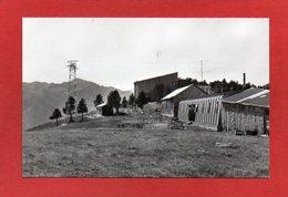 U56// CPSM /  09 AX Les THERMES - LE SAQUET - Refuge - Téléphérique Et Montagnes    /CP Semie Moderne  NON écrite - Ax Les Thermes