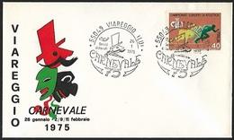 1975 - ITALIA - Cover + Y&T 1180 [Roma] + VIAREGGIO - 1946-.. République