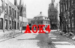59 Nord COMINES 1917 Mairie Eglise Belfort Occupation Allemande Flandern Nordfrankreich Fussartillerie Regiment 9 - Sonstige Gemeinden