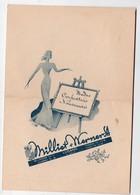 Lugano (Suisse) Menu Hotel Nternational 1947 (PPP9260) - Menus