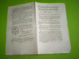1822: Maladies Contagieuses. Foire Loudéac, Buais, Sourdeval,Querqueville,Avranches,Cerisy,Chanos Curson ... Legs - Décrets & Lois