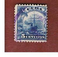 "CUBA -SG  304  -  1899   SHIPS: LINER ""UMBRIA""   - USED - Cuba"