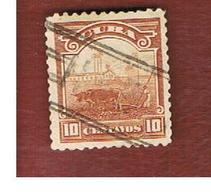 CUBA -SG  310  -  1899   PLOUGHING   - USED - Cuba