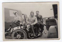 < Automobile Auto Voiture Car >> Belle Photo Originale 6 X 9 Moto FN? Ambulance Militaire - Automobiles