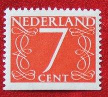 7 Ct Combinatie Booklet Stamp NVPH 467 467H (Mi 614 Du) 1946 1964 POSTFRIS / MNH ** NEDERLAND / NIEDERLANDE - Booklets