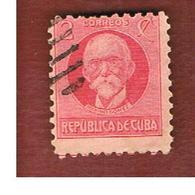 CUBA -SG  337  -  1917 M. GOMEZ    - USED - Cuba