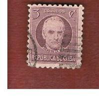 CUBA -SG  338  -  1917 J. DE LA LUZ   - USED - Cuba