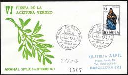 Spagna/Spain/Espagne: Raccomandatam, Registred, Festa Delle Olive Verdi, Green Olives Festival, Fête Des Olives Vertes - Agricoltura