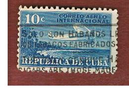 CUBA -SG  378  -  1931    AIRPLANES: FOKKER TRIMOTOR - USED - Cuba