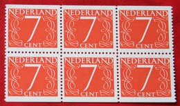 7 Ct Combinatie Booklet Stamp NVPH 467 467G+H C5 (Mi 614 Do + Du) 1946 1964 POSTFRIS / MNH ** NEDERLAND / NIEDERLANDE - Booklets