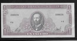 Chili - 1 Escudo - Pick N°136 - Neuf - Chili