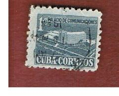 CUBA -SG  583  -  1952   REBUILDING FUND    - USED - Usati