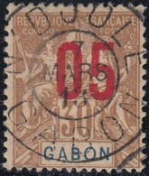 Gabon 1910-1922 - N'Djole Sur N° 71 (YT) N° 70 (AM). Oblitération De 1913. - Gabon (1886-1936)