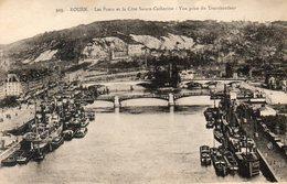 - 76 - ROUEN. - Les Ponts Et La Côte Sainte-Catherine. Vue Prise Du Transbordeur - - Rouen