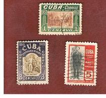 CUBA -SG  644.653  -  1953  CENTENARY JOSE MARTI    - USED - Kuba