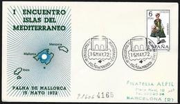 Spagna/Spain/Espagne: Raccomandatam, Registred, Isole Del Mediterraneo, Islands Of The Mediterranean, îles De La Méditer - Isole