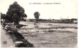 95 PONTOISE - Le Déversoir St-Martin - Pontoise