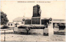 02 CHIVRES-en-LAONNOIS - Le Monument Aux Morts - Sonstige Gemeinden