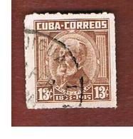 CUBA -   SG  1180b   -  1954   C.J. FINLAY    - USED - Usati