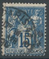 Lot N°44823  N°90, Oblit Cachet à Date De PARIS 41 (AV. DUQUESNE) - 1876-1898 Sage (Type II)