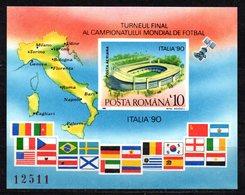Hb Sin Dentar Italia 90 Rumania - Coppa Del Mondo