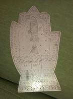 Hebrew Letters,fish On Metal Plate Unique Item,judaica,16x9.5 Cm - Art Oriental