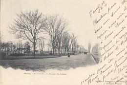 CHAUNY          PROMENADE ET AVENUE DE SELAINE       PRECURSEUR - Chauny