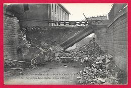 08-Charleville-(11 Novembre 1918)Pont De Chemin De Fer Rue Des Forges-Saint Charles-cpa écrite - Charleville