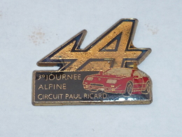 Pin's 3° JOURNEE ALPINE, CIRCUIT PAUL RICARD - Renault