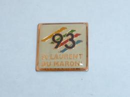 Pin's GUYANNE, SAINT LAURENT DU MARONI - Cities