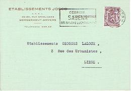 PK Publicitaire BORGERHOUT 1950 - Etablissements JOSCO - Speelgoedfabrikant - Bree