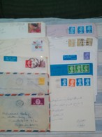 Great Britain Collection Of 10 Different Used Covers - Collections