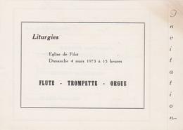 FILOT ( Hamoir ) 1973 Programme De Musique - Programmi