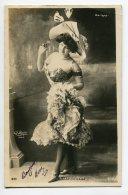ARTISTE 857 ELISE DE VERE Robe Décolletée Chapeau Aiguilles Marigny SIP 836  - Cliché REUTLINGER  Paris - Entertainers