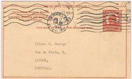 USA, 1937, Berkeley-Lisboa - Etats-Unis